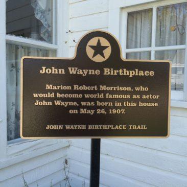 John Wayne Birthplace Trail