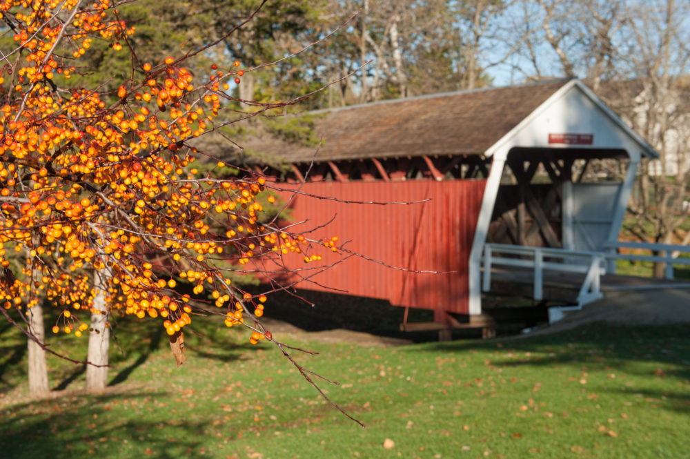 October 13 & 14, 2018: Madison County Covered Bridge Festival