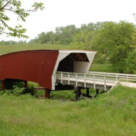 Madison County's Cedar Covered Bridge Rebuilding Project Receives Funding